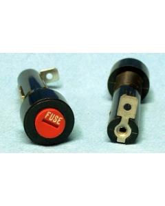 LITTELFUSE - 345701A  / 03450701H - Fuse holder, 345 Series Panel Mount Enclosed Fuse Holder. 3AB/Ag 10Amp 600VAC