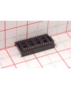 WELCON - 630-7281612 - Connectors, ZIF sockets. 28 Pin.