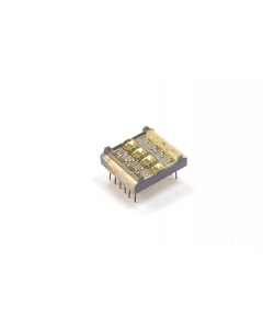 LITRONIX - DL1414CE - Opto display. 4 Digit 16 segment, 12 dip. New.