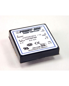 POWER ONE - DGP20E48T5/15 - Power supply. DC Converter. Output: Triple.