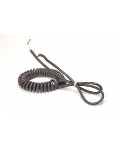 UNMARKED - 5-334 - Power cord. 24-2C (24AWG 2 Conductor) coiled.