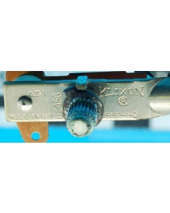 KLIXON - C9192-1-2 - Thermostat, adjustable 0-500 Deg. With spec sheet.