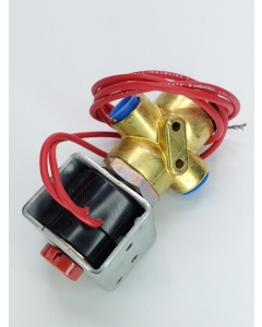 """ASCO - Automatic Switch Co - HV1744762 -  Red Hat - 3-Way Solenoid Valve 15PSI Air, Inert Gas, Water,  1/4""""NPT 120VAC"""