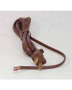 Unidentified MFG - 5-448 - Power cord. 18-2C (18AWG 2 Conductor). 5 Ft.