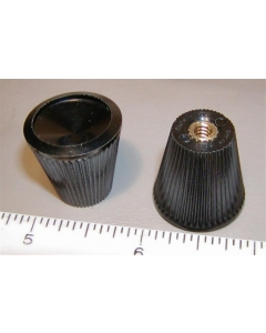 "ROGAN BROTHERS - 6-047 - Hardware, knob. Conical 1/8"" ID threaded."