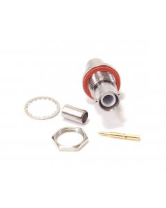 AMP INC - 225058-2 - Connectors, coax. SHV female 5KVDC.