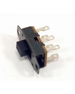 CW Industries - 6-077 - Switch, Slide. 2-position 125VAC, 3Amp, DPDT
