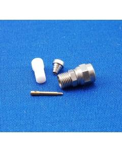 EF Johnson - 142-0221-026 - JCM-A SMA-style Male plug for RG188