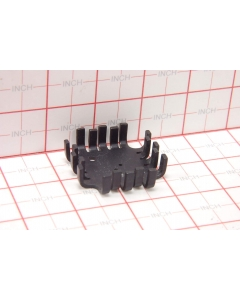IERC - UPI-TO66-B - Hardware, heatsink. TO-66 Black