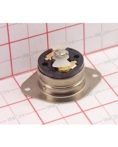 Hubbell Wiring Device-Kellems - HBL7487 - 15Amp (F) 125/250VAC Panel Mount Twist Lock Flange Receptical