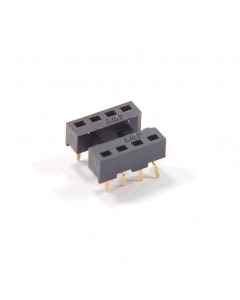 AMP INC - 530637-1 - Connector, IC socket. 8 Dip, low profile.