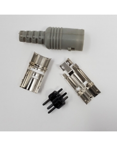 VERITAS - VCB-168 - Connector, Din. Male 3 Pin. Package of 2.