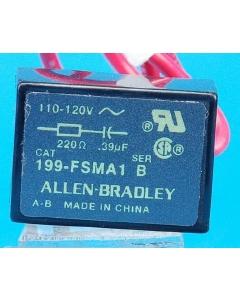 ALLEN BRADLEY - AB - 199FSMA1 - B - New Surge Suppressor Series B 110-120V
