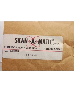 SKAN-A-MATIC - S51104-6 - Photoelectric scanner.