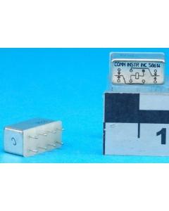 COMM INSTRUMENTS - HFW1201W202 - Relay, DC. DPDT 6VDC.