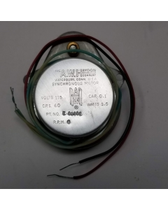 HAYDON - E81302 / K81336-P4-S3 - Synchronous Motor, AC Timing. Supply: 115VAC 1.5W.  6 RPM, with Capacitor.