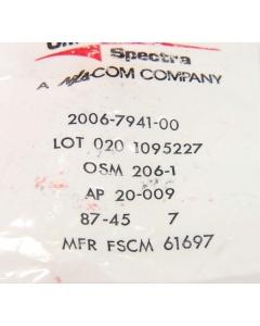 OMNI-SPECTRA - 2006-7941-00 - Bulkhead Mount SMA Coax Connectors RG/U402 Gold Plated