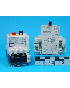ALLEN BRADLEY - AB - 140-MN-0060 SER B w/ 140-A11 - Adjustable Current 0.4~0.6A MANUAL MOTOR STARTER