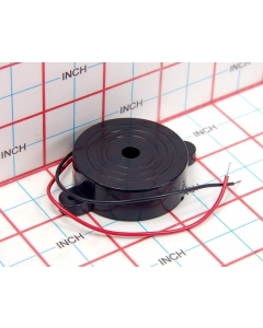 """Projects Unlimited - AT-14 - Speaker, piezo. Dimensions. 1-5/8"""" D."""