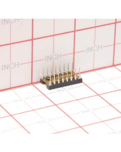 THOMAS & BETTS - X09-1369-02 - Connector, IC socket. 16 Dip Package of 25.