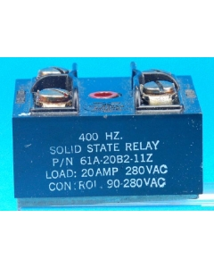 TELEDYNE - 61A-20B2-9Z - Relay, SSR. Control: 3-8VDC.