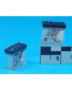 OMRON - G2R-117P-V-RP-US-12VDC - NEW PCB MT RELAYS 16A 12VDC COIL