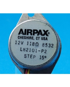 AIRPAX - L82101-P2 - Motor, stepper. 12V 118 ohm.