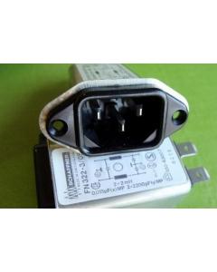 SCHAFFNER - FN322-3/05 - Filter. 3Amp 110/250V.