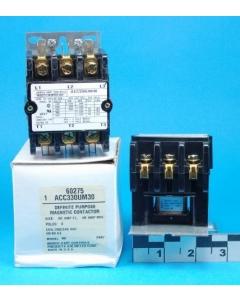 ARROW HART & HART - ACC330UM30 - Relay, contactor. 3P NO 40Amp 208/240VAC.