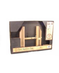 HEMPE - 6-411 - Classic wooden hand screw clamp.