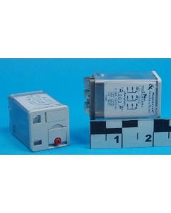 MAGNECRAFT/S&D - 788XCXCM4L-12D - Relay, DC. 3PDT 11Amp 12VDC.