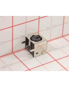 AMP INC - 749265-1 - Connector, din. Female 6 pin, PS-2 jack.