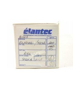 Elantec - ELH0002H/883B - IC, current amplifier. Case: TO-99 metal can.