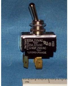 Carling - HK251-73XN - Switch, toggle. 3PST 15A 125V.