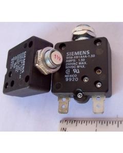 SIEMENS/P&B - W58XB1A4A-1.50 - Circuit breaker. 1.5Amp 250VAC / 50VDC.