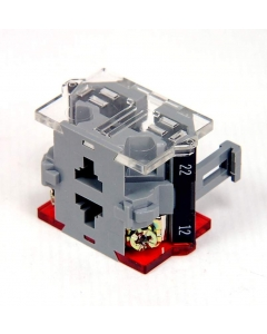 EAO SWITCH - 704.911.2 - Contact block for switch. One NC 10Amp 500VAC.