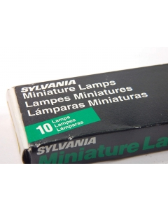 Sylvania - 52A - Lamps & Lights. 24V 30mA 8,000 hours.