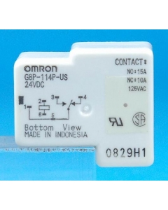 OMRON - G8P114PUSDC24 - Relay, control. SPDT 15A 24VDC.
