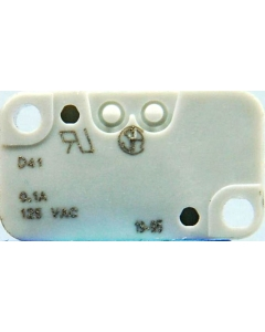 CHERRY ELECTRICAL PRODUCTS - D41LR1RA - Switch, Roller . Contacts: SPDT-0.1A