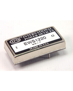 International Power Devices - EWS1220 - DC/DC Converter. 20VDC 5 watt 250mA.