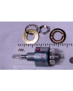 C & K Components - MG00L1NZQD - Switch, Rotary. Contacts: 1P12T.