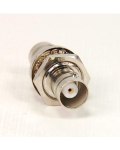 BOMAR - SPX55062 - Connector, BNC. Bulkhead adapter F/F.