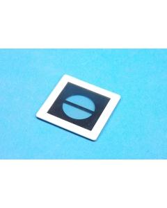 Unidentified MFG - 0820148-04 - Photographic film 10% black strip. BETA V VI.