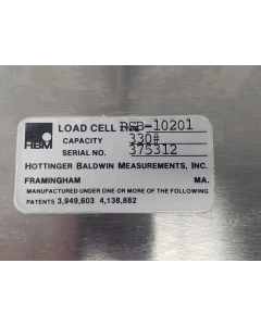 "Hottinger Baldwin Measure - PSB-10201 330# - LOAD CELL 330# NEW 18""SQ PLATFORM"