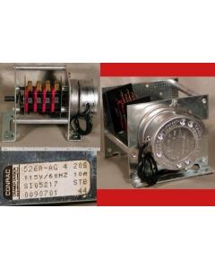 CRAMER - 526A-AG 4 20S - Timer, cam. 4-SPDT 10A. 20 Second.