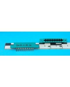 CINCH - CA-10-4-01-SE - Connector, PCB edge, 10 position.