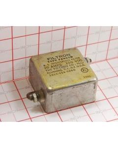Filtron - FA965B - Filter, line. 20Amp 100VDC. RF interference.