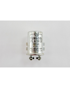 TUNG-SOL - 195S4S - Vintage Flasher 12VDC, 2 wire,  NSN 5945-99-873-9126