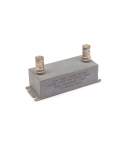 BIRD - 044337-0001 - Filter, RF. 160MHz low pass. Model 5451D.