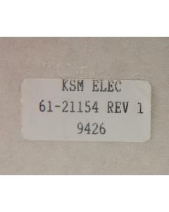 KSM ELECTRONICS - 61-21154/REV1  -  Universal Power Cord. Computer/Monitor/Printer/TV. 18-3C Female Trapezoid RA.